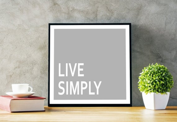 Are you living Simply?